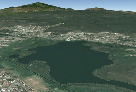 La laguna de Zacapú