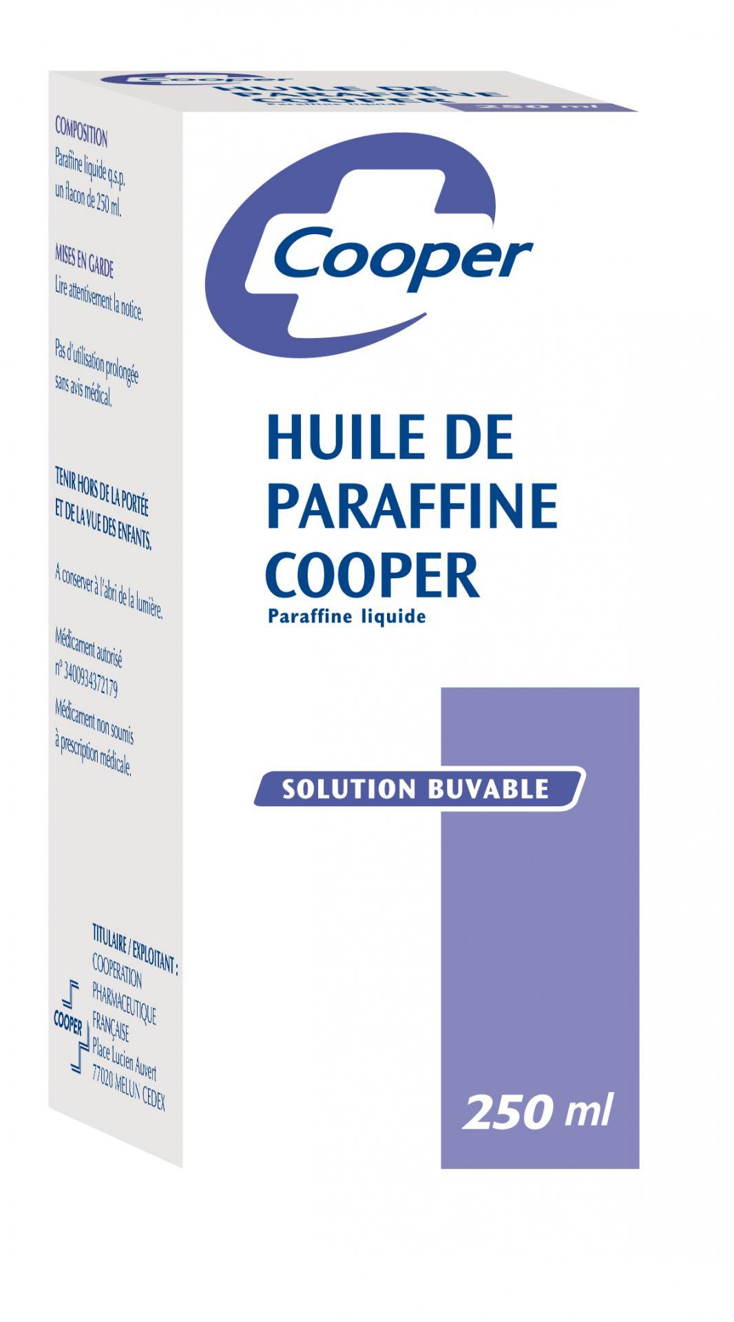 Paraffine cooper